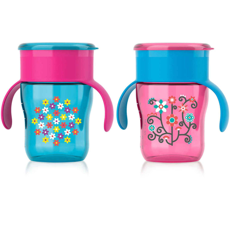 Philips Avent Pink Bottle Feeding Drinkware