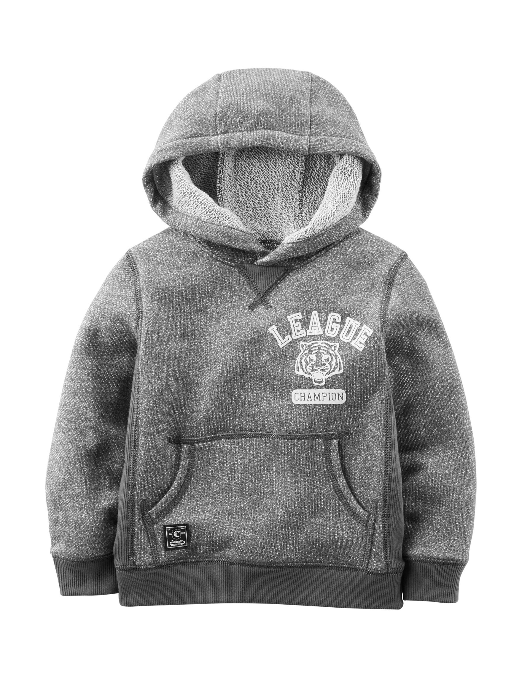 Carter's Grey Pull-overs