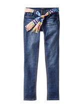 Squeeze Bootcut Jeans with Sash Belt - Girls 7-16