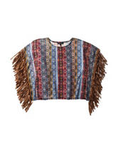 My Michelle Fringe Tunic Top - Girls 7-16