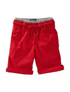OshKosh B'gosh® Red Rolled Shorts – Toddler Boys