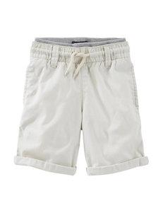 Oshkosh B'gosh® Beige Rolled Shorts – Toddler Boys