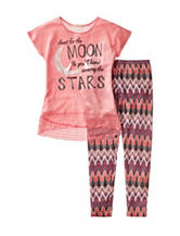 Self Esteem 2-pc. Shoot For The Moon Top & Leggings Set - Girls 7-16