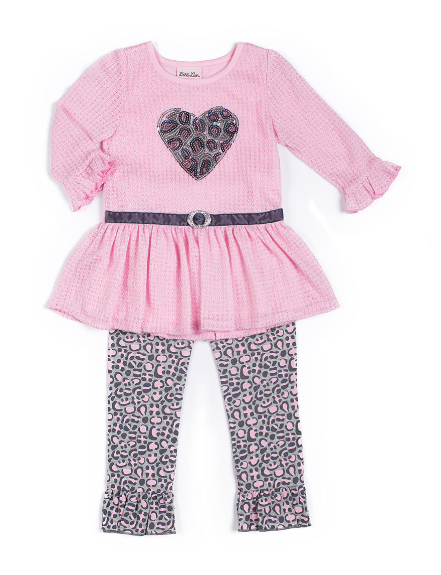 Little Lass Pink Leggings