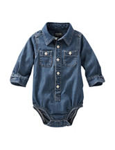 Oshkosh B'gosh® Solid Color Chambray Bodysuit – Baby 3-24 Mos.