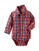 Oshkosh B'gosh® Multicolor Plaid Print Bodysuit – Baby 3-24 Mos.