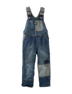 OshKosh B'gosh® Patchwork Denim Overalls – Baby 3-24 Mos.