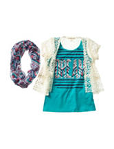 Self Esteem Dream Top &  Cardigan Set Girls 7-16