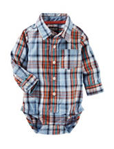 OshKosh Bgosh® Multicolor Plaid Print Bodysuit - Baby 3-24 Mos.