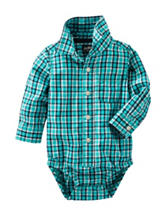 OshKosh B'gosh® Multicolor Plaid Print Bodysuit - Baby 3-24 Mos.