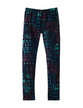 1st Kiss Multicolor Tribal Print Yummy Leggings – Girls 7-16