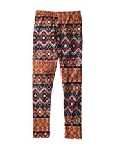 1st Kiss Multicolor Geo Print Yummy Leggings – Girls 7-16