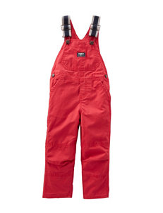 Oshkosh B'gosh® Red Canvas Overalls – Baby 3-24 Mos.