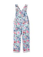Oshkosh B'gosh® Multicolor Floral Print Overalls – Baby 3-24 Mos.