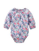 OshKosh B'gosh® Multicolor Floral Print Bodysuit– Baby 3-24 Mos.
