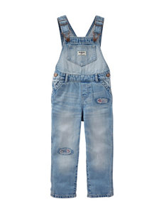OshKosh B'gosh® Light Wash Denim Overalls –Baby 3-24 Mos.