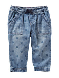 Oshkosh B'gosh® Chambray Dot Pants – Baby 3-24 Mos.