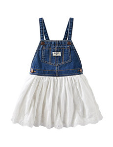 Oshkosh B'gosh® Denim Eyelet Jumper – Baby 3-24 Mos.