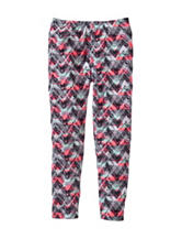 One Step Up Chevron Print Yummy Leggings – Girls 7-16