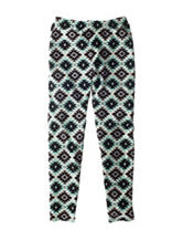 One Step Up Diamond Print Leggings - Girls 7-16