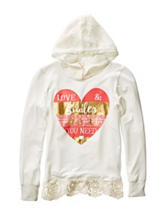 Hanging with my Friends Love & Smiles Hoodie Top – Girls 7-16