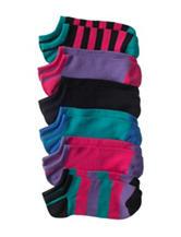 Capelli 6-pk. No-Show Socks - Girls