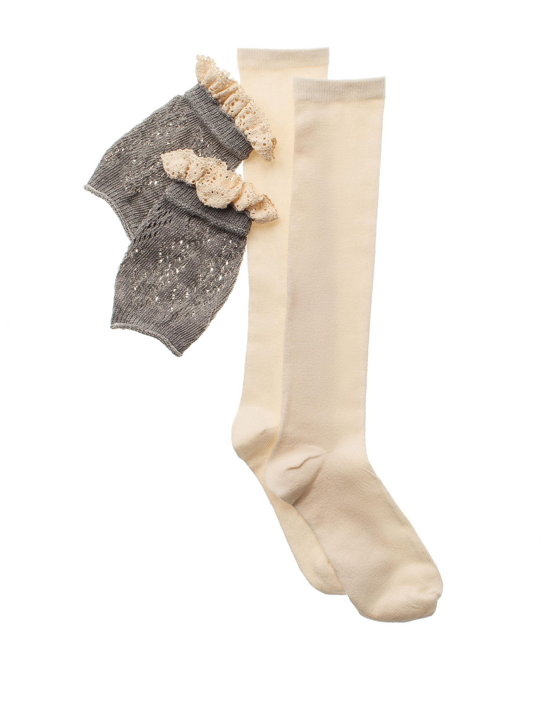 Capelli Grey Socks