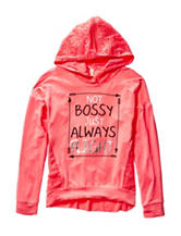 Hanging with my Friends Always Right Hoodie Top – Girls 7-16