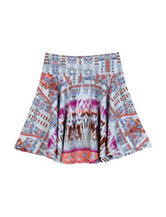 Amy Byer Aztec Print Skater Skirt - Girls 7-16