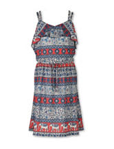 Speechless Aztec Elephant Print Dress - Girls 7-16