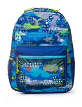 AD Sutton Light Up Shark Print Backpack
