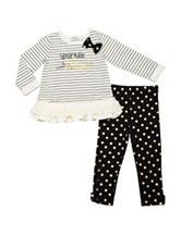 Baby Gear Sparkle & Shine Leggings Set - Baby 12-24 Mon.