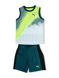 Puma® Art Muscle Tank & Shorts Set - Toddler Boys