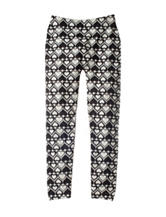 Squeeze Heart Aztec Print Leggings - Girls 7-16