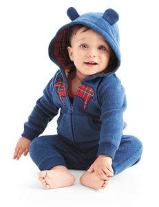 Carters® 3-pc. Bear Plaid Bodysuit & Pants Set - Baby 0-12 Mos.
