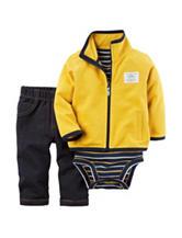 Carter's® Yellow Terry Cardigan Set - Baby 0-12 Mos.