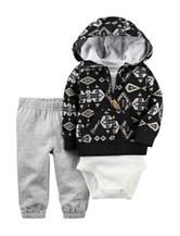 Carter's® Aztec Print Jacket & Pants Set - Baby 0-12 Mos.