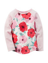 Carter's® Multicolor Floral Print Shirt– Girls 4-8