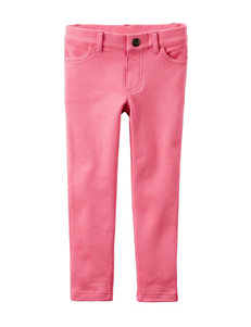 Carter's® Pink French Terry Jeggings – Girls 4-8