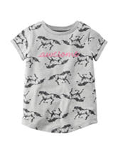 Carter's® Awesome Horse Print Top - Toddler Girls