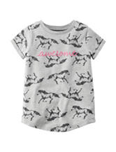 Carter's® Awesome Horse Print Top - Girls 4-8