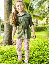 Carter's® 2-pc. Pink Floral Print Leggings Set – Girls 4-8