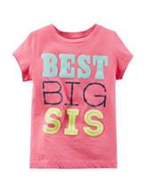 Carter's® Pink Best Big Sis Top – Girls 4-8