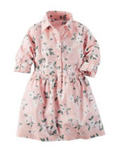 Carters® Floral Print Dress - Toddler Girls