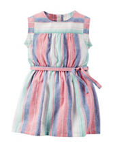 Carter's® Multicolor Striped Print Dress – Toddler Girls