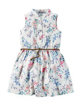 Carters® Floral Print Woven Dress - Toddler Girls