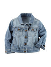 Carters® Light Wash Denim Jacket - Toddler Girls