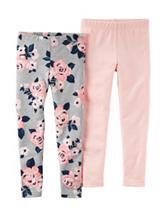 Carter's® 2-pk. Floral Print Leggings – Girls 4-8