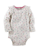 OshKosh B'gosh® Feather Print Bodysuit- Baby 3-24 Mos.