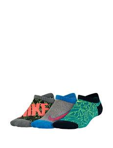 Nike Green Socks